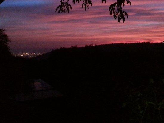 B&B Villa Beatrice: Incredibile tramonto dalla nostra camera