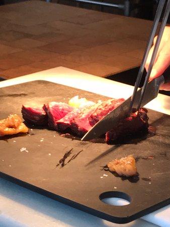 Corte de la carne