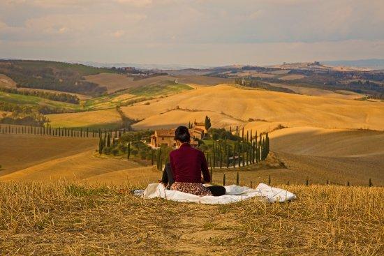 Asciano, Italy: für jeden etwas ..