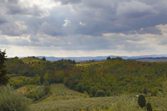 Asciano, Italy: Aussichten