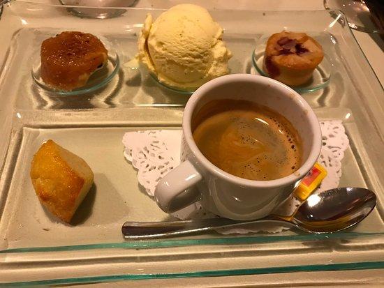 Oberschaeffolsheim, Francia: Café gourmand