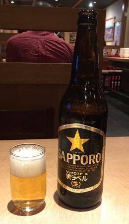 Koshigaya, Japan: 瓶ビール