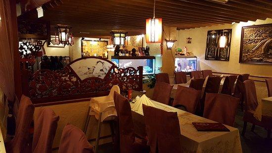 Honefoss, Norwegia: Restaurangen
