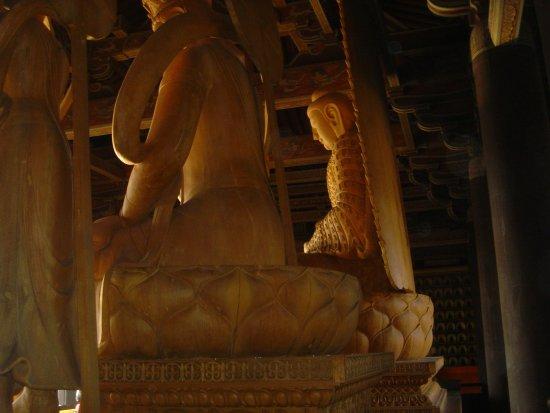 Datong, China: back face temple