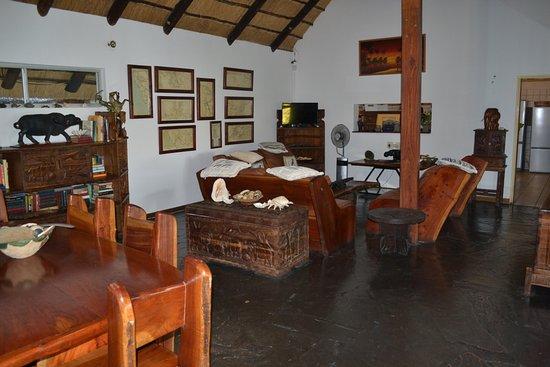 Katima Mulilo, Namibia: Part of the Lounge area full of memories