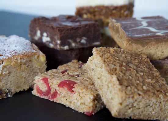 Hamble, UK: Homemade cakes