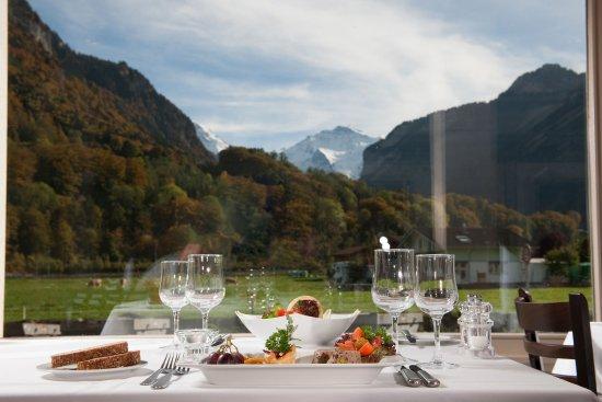 Wilderswil, Suiza: Restaurant