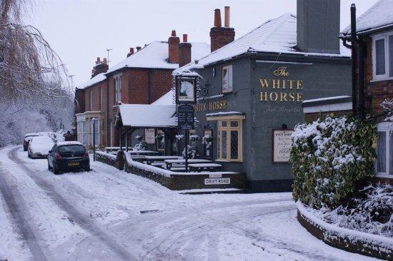 Entrance - Picture of The White Horse, Fareham - Tripadvisor
