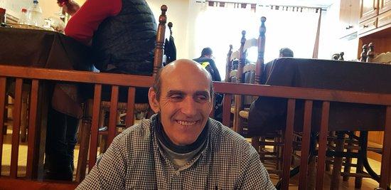 Mieres, España: MIi marido Sito
