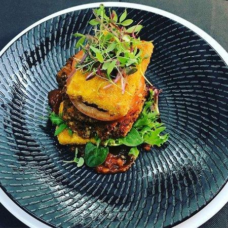 Mercure Albury: Our vegetarian stack, more veg, GF and vegan options available. Seasonal Menu.