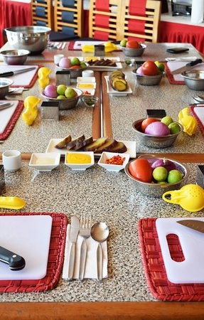 Hotel Runcu Miraflores: Clases de cocina