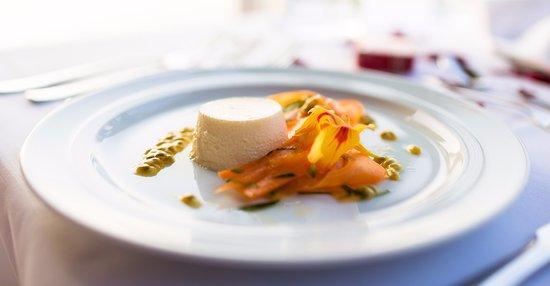 Hauptspeise im Restaurant Michaelis Himmelpfort