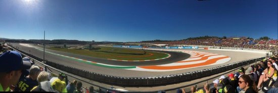 Cheste, España: Section 46 (Yellow) Panoramic Circuit Ricardo Tormo