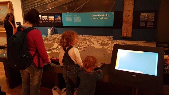 The Cardiff Story: Ground floor exhibits