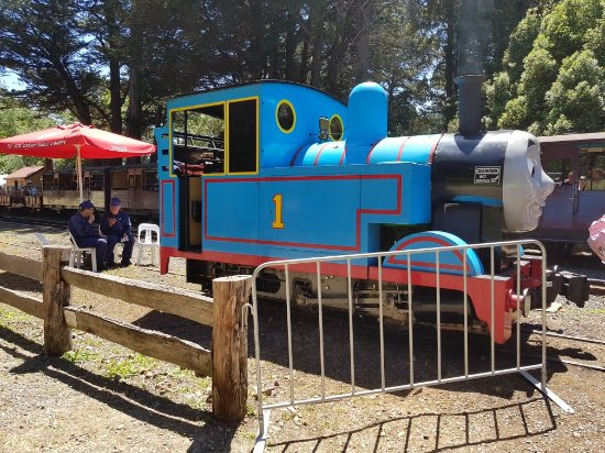Belgrave, Австралия: Puffing Billy Railway