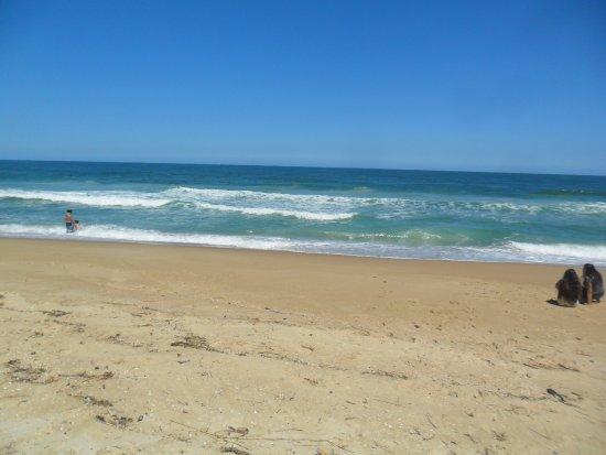 Mocambique Beach: Praia de Moçambique, lugar tranquilo e isolado.