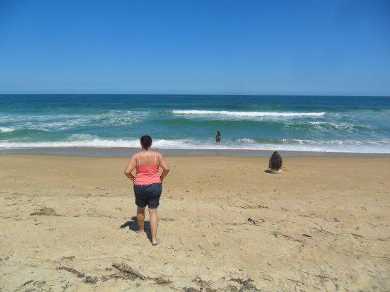 Mocambique Beach: Olhando o mar!