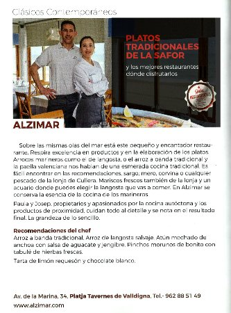 Tabernes de Valldigna, Spain: Guia mejores restaurantes de la Safor 2017