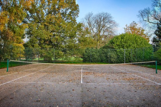 Tennis Court available to all guests staying in the cottages at Hindringham Hall