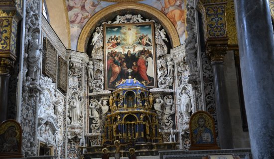 Santa Maria dell'Ammiraglio (La Martorana): altare