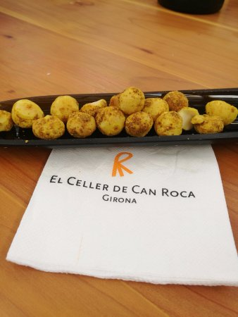 Macadamias al curry - Mas Marroch (Girona)