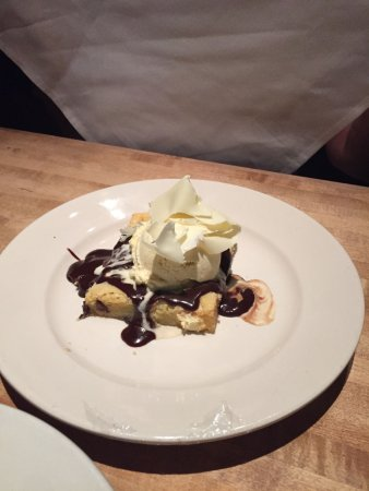 The White Chocolate Grill - Park Meadows: white chocolate brownie