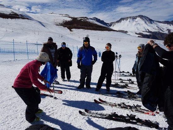 Valle Nevado, Chile: Aula de esqui