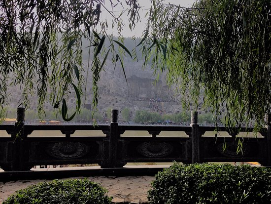 Luoyang, Çin: The view from over the river