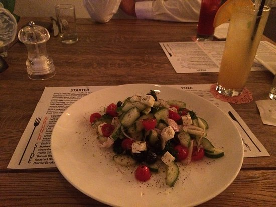 Delicious food and a cosy atmosphere