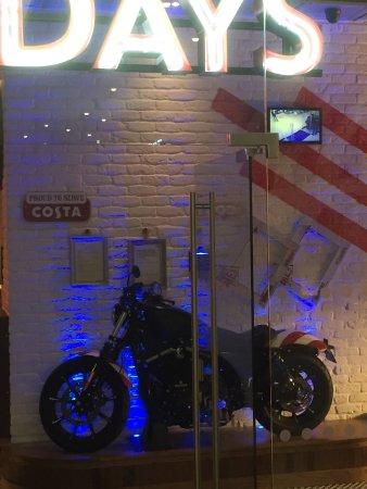 Northumberland, UK: Harley Davidson