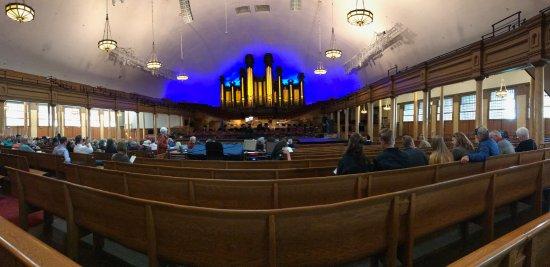 Temple Square : O recital no Tabernáculo é incrível.
