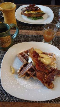 Carlisle, PA: Breakfast using local source ingredients