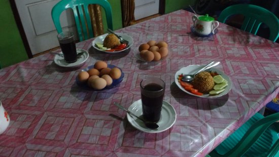 Kayu Aro, Indonesia: meal