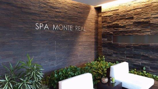 Monte Real, Portugal: entrada do SPA receção (staff muito simpatico)