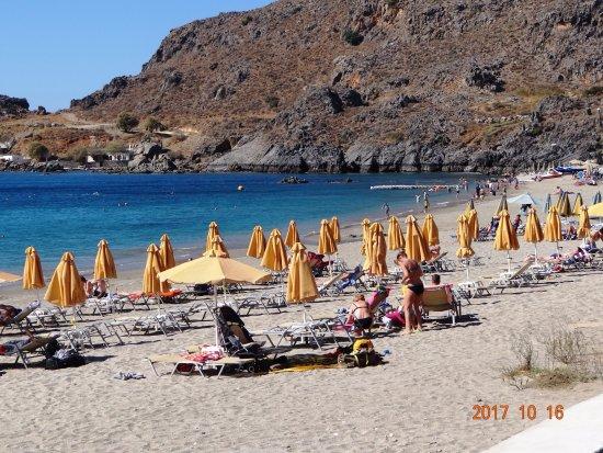 Plakias, Griechenland: Der schöne Strand