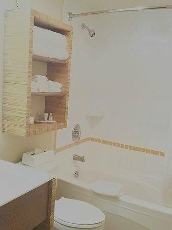 Comfort Inn Downtown: 入浴剤で疲れ取る