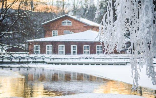 Fiskars, Suomi: Hotel Tegel in winter time