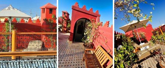 Riad Asrari: Terrace - Terrasse