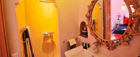 Riad Asrari: Moroccan Room - Chambre Marocaine