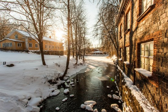 The old Mill by Fiskars River
