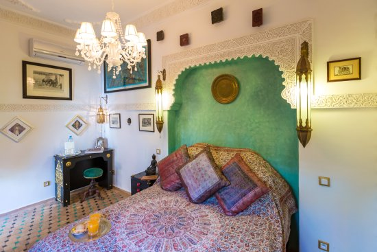 Riad Asrari: Indian Room - Chambre Indienne