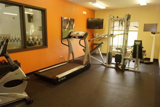 Milford, نيويورك: Fitness room