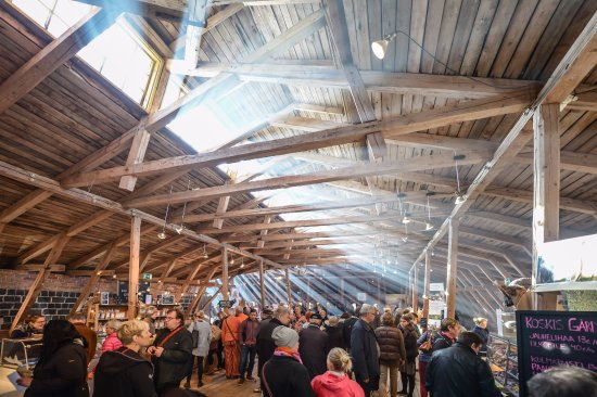 Fiskars, Suomi: Slow Food festival at the Old Granary