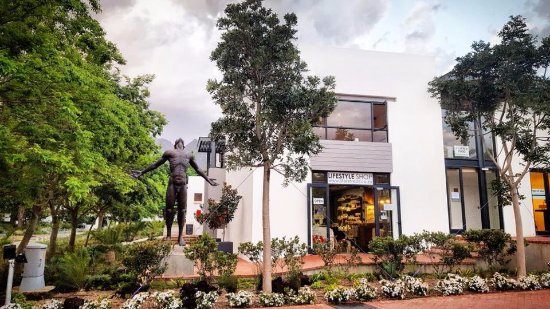 Somerset West, Afrique du Sud : Our beautiful Healing Hub: studio, shop & spa