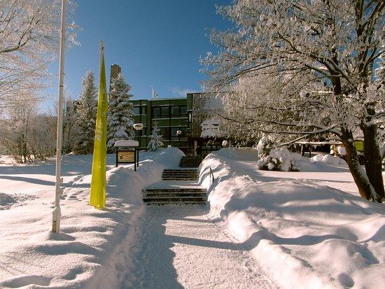 Altenberg, Deutschland: Außenansicht im Winter