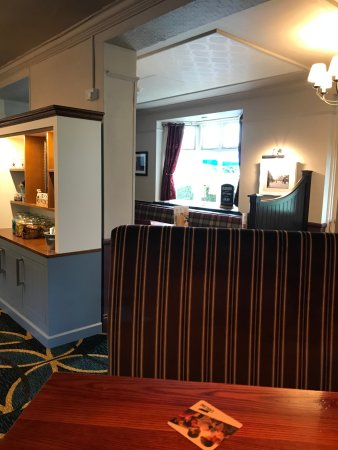 Colne, UK: Booth across from the bar