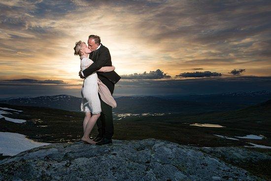 Duved, İsveç: Bröllopshelg på Blåhammaren!