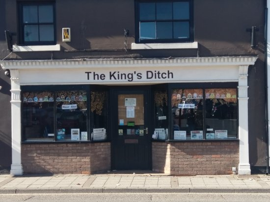 Tamworth, UK: The King's Ditch