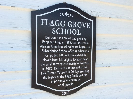 History of Flagg Grove school moved from Nutbush to Brownsville Museum.