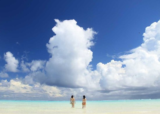 Palau: Miles of beaches, just how you would want to spend your time.